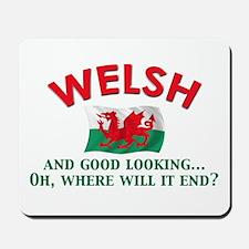 Good Lkg Welsh 2 Mousepad