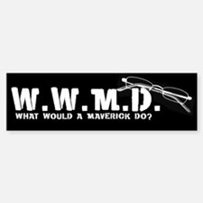 W.W.M.D. - What Would A Maver Bumper Bumper Bumper Sticker