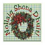 Irish gaelic coasters christmas Drink Coasters