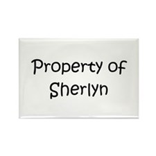 Unique Sherlyn Rectangle Magnet