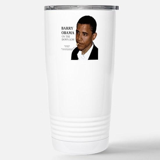 Barry Obama Stainless Steel Travel Mug