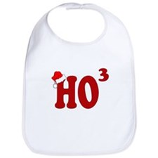 HO3 FUNNY CHRISTMAS THEMED Bib