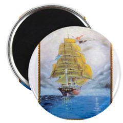 CLIPPER SHIP Magnet