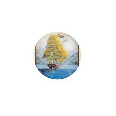 CLIPPER SHIP Mini Button (10 pack)