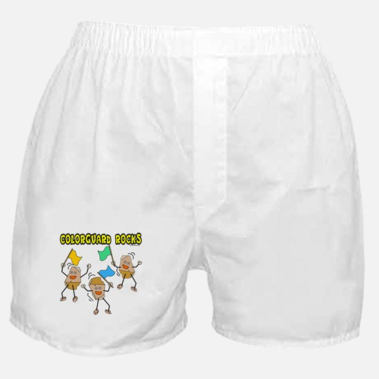 Colorguard Rocks Boxer Shorts