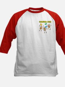 Colorguard Rocks Kids Baseball Jersey