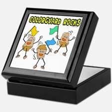 Colorguard Rocks Keepsake Box