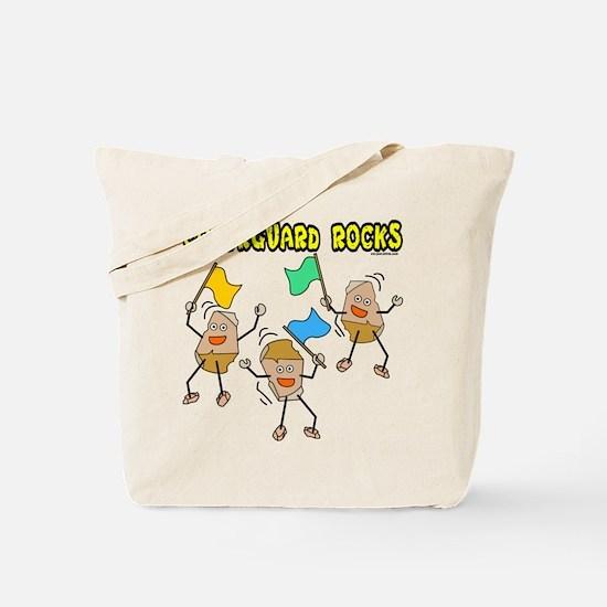 Colorguard Rocks Tote Bag