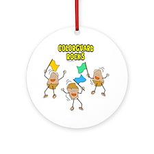 Colorguard Rocks Ornament (Round)