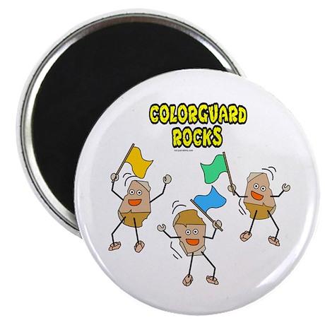 "Colorguard Rocks 2.25"" Magnet (100 pack)"
