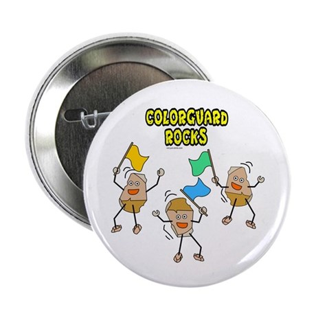 """Colorguard Rocks 2.25"""" Button (100 pack)"""