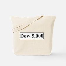 Dow 5,000 Tote Bag