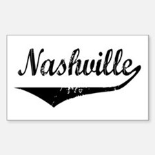 Nashville Rectangle Decal