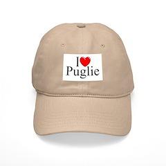 """""""I Love (Heart) Puglie"""" Cap"""