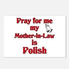 Pray for me my mother-in-law is Polish Postcards (