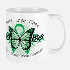 Kidney Cancer Tribal Butterfly Mug