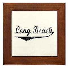 Long Beach Framed Tile