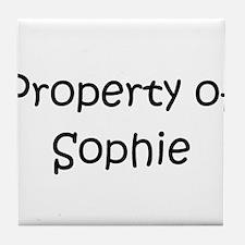 Unique Sophie Tile Coaster