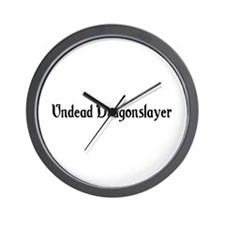 Undead Dragonslayer Wall Clock