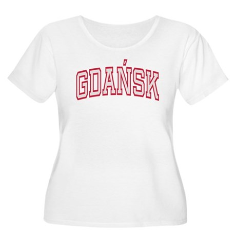 Gdansk Colors Women's Plus Size Scoop Neck T-Shirt