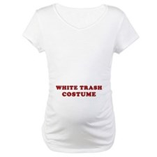 Halloween White Trash Costume Shirt