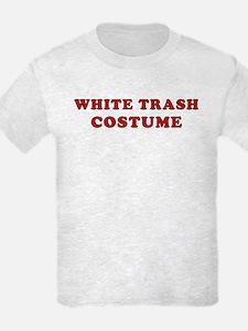Halloween White Trash Costume T-Shirt