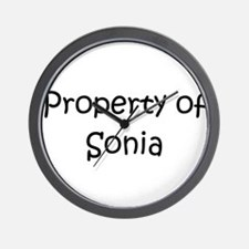 Unique Sonia Wall Clock