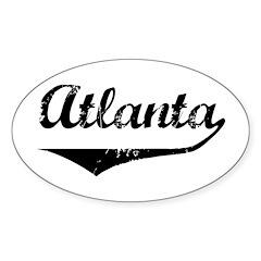 Atlanta Oval Decal