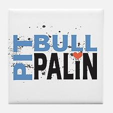 Pit Bull Palin Tile Coaster