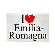 """I Love (Heart) Emilia-Romagna"" Rectangle Magnet"