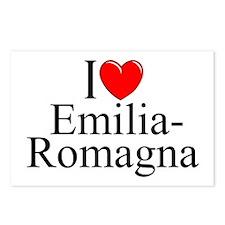 """I Love (Heart) Emilia-Romagna"" Postcards (Package"