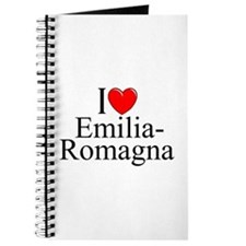 """I Love (Heart) Emilia-Romagna"" Journal"
