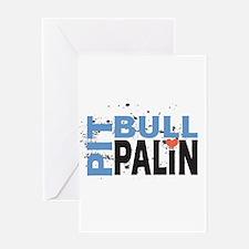 Pit Bull Palin Greeting Card