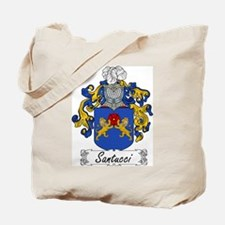 Santucci Family Crest Tote Bag