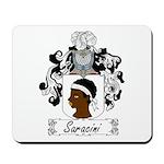 Saracini Family Crest Mousepad