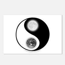 Yin Yang Earth Moon Postcards (Package of 8)