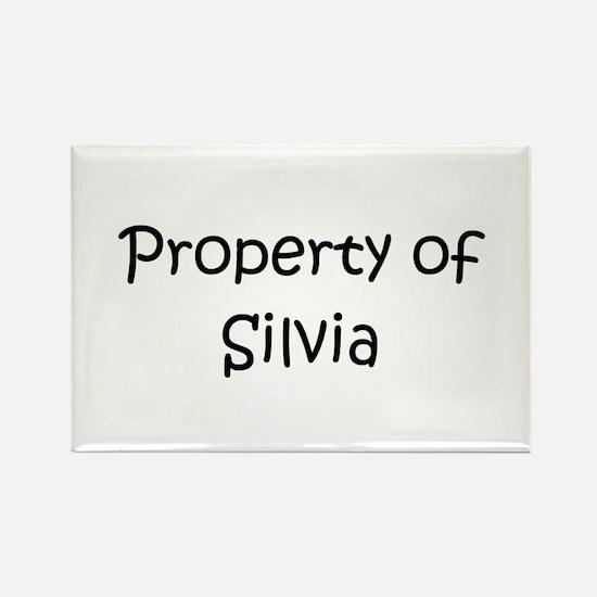 Funny Silvia Rectangle Magnet
