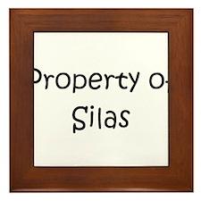 Cool Silas Framed Tile