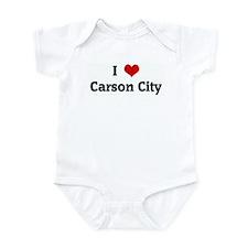 I Love Carson City Infant Bodysuit