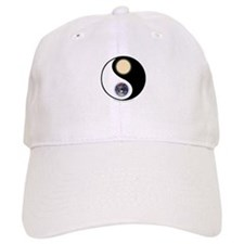 Yin Yang Earth Sun Baseball Cap