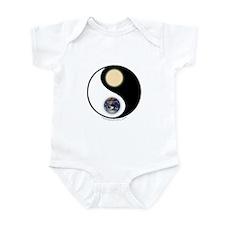Yin Yang Earth Sun Infant Bodysuit