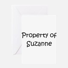 Cute Suzanne Greeting Card