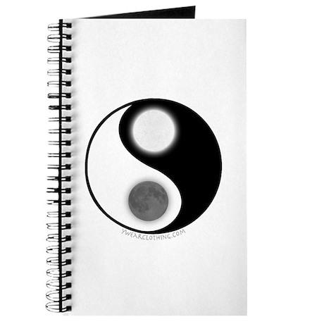 Yin Yang Moon Sun Journal