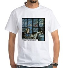 'Night Shift Blues' T-Shirt With Backprint