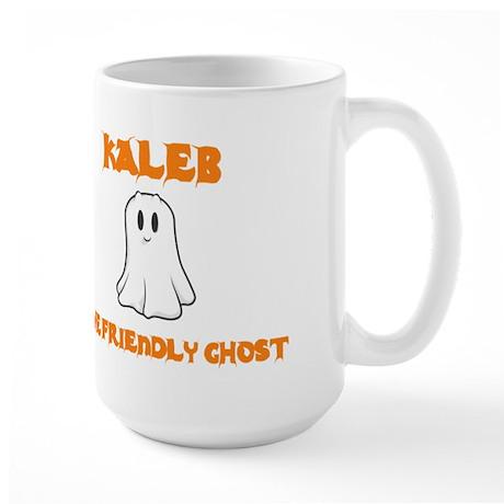 Kaleb The Friendly Ghost Large Mug