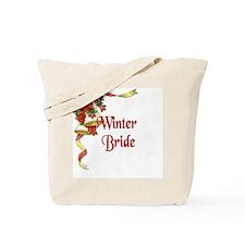 Winter Wedding - Winter Bride Tote Bag