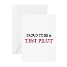 Proud to be a Test Pilot Greeting Cards (Pk of 10)