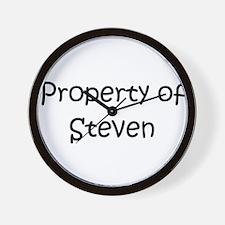 Cute Steven Wall Clock