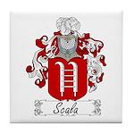 Scala Family Crest Tile Coaster