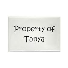 Funny Tanya Rectangle Magnet